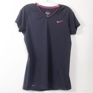 Nike Pro Combat Fitted Dri Fit Athletic Top M